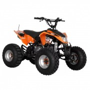 Hecht 54125Orange benzinmotoros quad 125 ccm