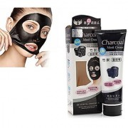 Charcoal Anti Blackhead Face Peel off Black Mask for removing blackheads With 2 Lip Pencil