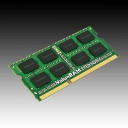Kingston 4GB 1600MHz DDR3 Non-ECC CL11 SODIMM SR X8, EAN 740617207781 KVR16S11S8/4