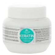 Kallos maska na poškozené vlasy s Keratinem 1000 ml