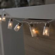 Kaemingk Illuminazione di Natale MASON 20 bianco caldo a LED 1,9 metri