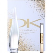 DKNY Liquid Cashmere White lote de regalo II. eau de parfum 100 ml + roll-on  10 ml