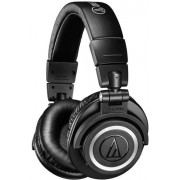 HEADPHONES, Audio-Technica ATH-M50xBT, Wireless, Microphone, Black