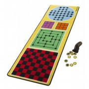 Joc covoras 4 in 1 Melissa and Doug, 36 piese