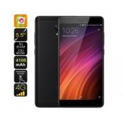 Smartphone Android Xiaomi redmi Remarque 4X - 5,5 pouces FHD, SnapDragon 625 CPU, RAM 3GB, 2GHz, empreintes digitales, Dual-IMEI (Noir)