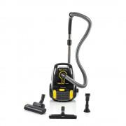 Aspirator cu sac Tizio SVC 8YL, 700 W, 2.3 l, filtru HEPA, negru/galben