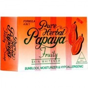 Pure Papaya Herbal Fruity Soap Skin Whitening Soap (135gm)