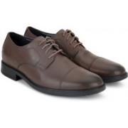 Clarks DELK PACE Formal Shoes For Men(Brown)