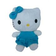 Tickles Blue Soft Cute Hello Kitty 28 Cm