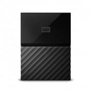 HDD Extern WD, 2TB, My Passport, 2,5 USB 3.0, Negru