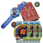 Yo-Kai Watch Montre à double projection Yo-Kai Watch Modèle U + Medallium + 6 Médailles
