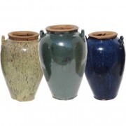 The Pot Co Yakuta Water Jar Jiangsu Planter Available in a Range of Sizes and Colours