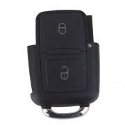 ELECTROPRIME 2 Button Remote Key Fob Case Shell Car Repair for VW Bora Golf MK4 GTI