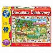 Puzzle in limba engleza Lumea dinozaurilor DINOSAUR DISCOVERY
