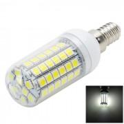 E14 lampara de bulbo de maiz LED de 12W luz blanca fria 1100lm - blanco + amarillo
