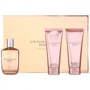 Sean John Unforgivable Woman lote de regalo I. eau de parfum 125 ml + gel de ducha 100 ml + leche corporal 100 ml