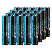 Super-Alkaline-Batterien Typ AAA / Micro, 1,5 V, 20 Stück | Batterien