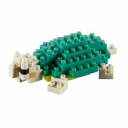 Broasca Testoasa Set Constructie 3D Micro Cub Brixies