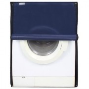 Dream Care Navy Blue Waterproof Dustproof Washing Machine Cover For Front Load Haier HW55-1010 5.5 kg