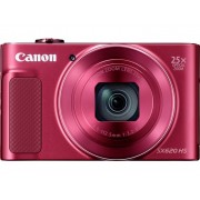 Canon PowerShot SX620HS Digitale camera 20 Mpix Zoom optisch: 25 x Rood Full-HD video-opname, WiFi