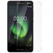 avizar Protector de Pantalla Cristal Templado Contornos Transparentes para Nokia 2.1