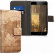 Husa iPhone 6 / 6S Piele ecologica Maro 24582.10