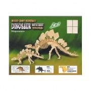 Bouwpakket met dinosaurus van hout