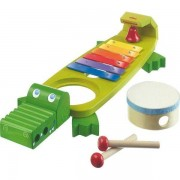 HABA® Jouets HABA® Crocodil Musicale - Jouet Musical en bois