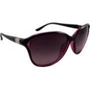ELS Cat-eye Sunglasses(Violet, Grey)