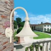 LIBERTI LAMP linea GARDEN Dione Bianco Lanterna A Parete Lampada Per Esterno Classica Bianca