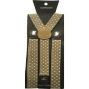 Mr. Zunk Y- Back Suspenders for Men(Beige)