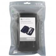 4smarts Set Box HOLIDAY - комплект селфи стик и качествени лещи Fish Eye, Wide Angle и Macro за смартфони и таблети (бял)