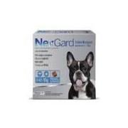 NexGard 28,3 mg - Cães de 4,1 a 10 Kg - Caixa com 3 tabletes
