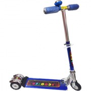 Shreebalaji Toys Skate Scooter For Kids 3 Wheel With 3 Adjustable Height With Suspension For Childrens - Kids Scooter