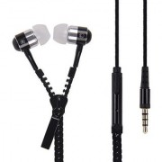 99 DEALS UNIVERSAL ZIPPER EARPHONE with 3.5mm jack & Compatible for Sony Xperia C3