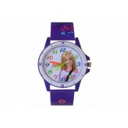 VITREND(R-TM) New Model Cute Barbie Fashion Look Analog Round dial Watch for Boys Girls(Sent As per Available Colour)