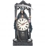 dekorace (hodiny) Time Waits for No Man - B3588J7