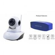 Mirza Wifi CCTV Camera and Hopestar H11 Bluetooth Speaker for SAMSUNG GALAXY S6 ACTIVE(Wifi CCTV Camera with night vision |Hopestar H11 Bluetooth Speaker)