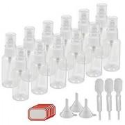 DIY Crafts Empty Fine Spray Mist Bottle (30 ml) (Pack of 12)