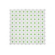 Covoras baie antiderapant Simply 45X45 cm Green