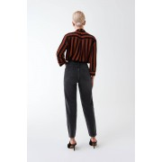 ''Gina Tricot'' ''Mom PETITE jeans'' Black 42