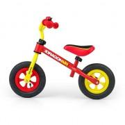 Bicicleta pentru copii Milly Mally, Fara pedale, Galben-Rosu