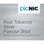 Aroma concentrata Jac Vapour Real Tobacco Silver, Tutun autentic fin si aromat, Se amesteca cu 50 - 60 ml Baza