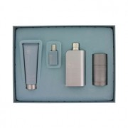 Perry Ellis 18 Eau De Toilette Spray + After Shave Balm + Deodorant Stick + Mini EDT Spray Gift Set Men's Fragrance 463733