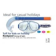 LAND & SEA Rockpool Silitex Snorkel & Mask Set - perfect for the kids holidays