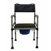 Scaun cu WC de camera pliabil din otel cod CMB-692-6