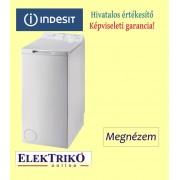 Indesit BTWA 61053 felültöltős mosógép , 6 kg ruhatöltet , A+++ energiaosztály