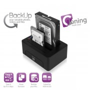 Ewent USB3.1 Dual Dockingstation EW7014