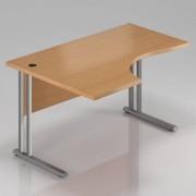 Rauman Ergonomický stůl Visio 140 x 100 cm, levý buk