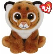Jucarie plus 24 cm Beanie Babies TIGGS - brown tiger TY